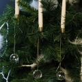 Set of 10 LED Gravity Candle Tree Ornaments