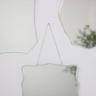 Set of 4 Frameless Wall Mirrors