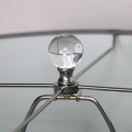 Silver Chrome Table Lamp