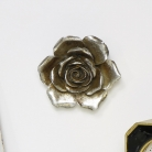 Silver Rose Wall Art