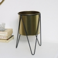 Small Gold Plant Stand