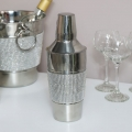 Stainless Steel Jewelled Cocktail Shaker