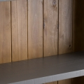 Tall Grey Bookcase with Drawer Storage - Westminster Range