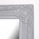 Tall Grey Wall Mirror 47cm x 142cm