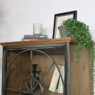 Tall Rustic Display Cabinet