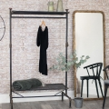Tall Rustic Gold Framed Mirror 68cm x 180cm