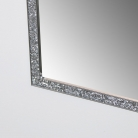 Tall Slim Jewelled Framed Mirror