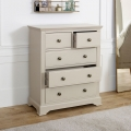Taupe-Grey Chest of Drawers - Davenport Taupe-Grey Range
