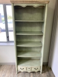 The Aston Range - Tall Distressed Effect Wooden Bookcase - with drawers - DAMAGED SECOND 8841