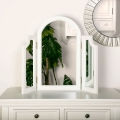 Triple Dressing Table Mirror - Daventry White Range SECONDS ITEM