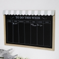 Vintage Days of the Week Chalk Board