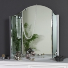 Vintage Style Dressing Table Triple Mirror