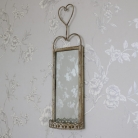 Vintage Wall Hanging Mirrored Sconce
