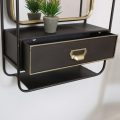 Wall Mirror Unit with Drawer Storage