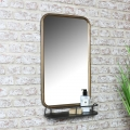 Wall Mirror with Shelf
