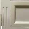White 4 Drawer Chest of Drawers - Daventry White Range - IMPERFECT SECOND