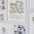 White Baby Nursery Multi Photo Frame