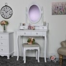 Toulouse Range - Furniture Bundle, Dressing Table, Mirror, Stool & 2 Bedside Tables