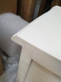 White Chest of Drawers - Victoria Range DAMAGED SECONDS ITEM 2022