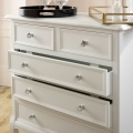White Chest of Drawers - Victoria Range