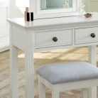 White Console / Dressing Table - Davenport White Range