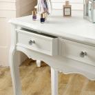 White Console / Dressing Table - Victoria Range