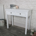 White Console/Dressing Table - Daventry White Range - IMPERFECT  SECOND