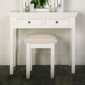 White Dressing Table Set - Daventry White Range