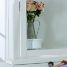 White Dressing Table Vanity Mirror - Newbury White Range