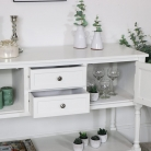White Mirrored Sideboard