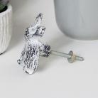 White Rabbit Drawer Knob