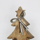 Wooden Cut Out Christmas Tree Ornament