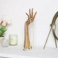 Wooden Hand Jewellery Holder