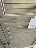 Wooden Storage Cupboard with 2 Drawers - Hornsea Range DAMAGED SECOND 4763