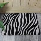 Zebra Print Coir Door Mat