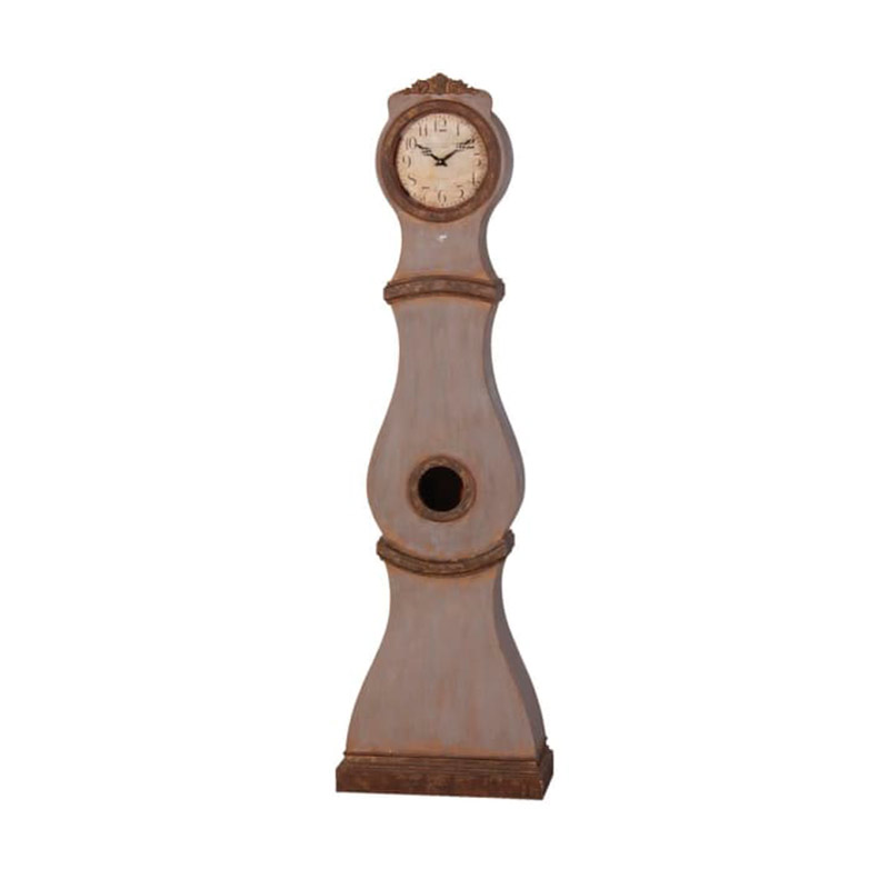 Vintage Antique Rusted Grandfather Clock