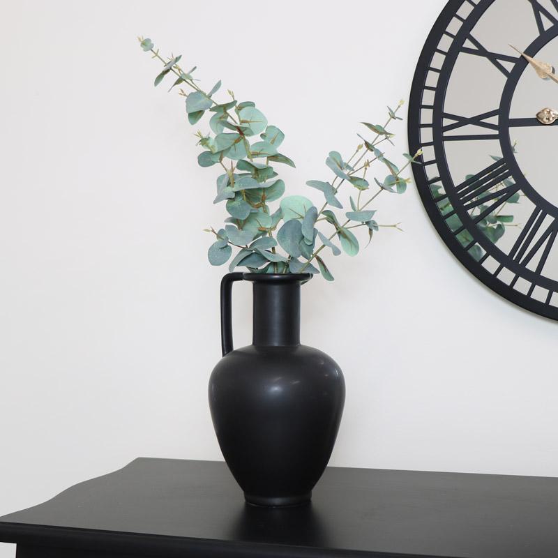 Black Greek Vase