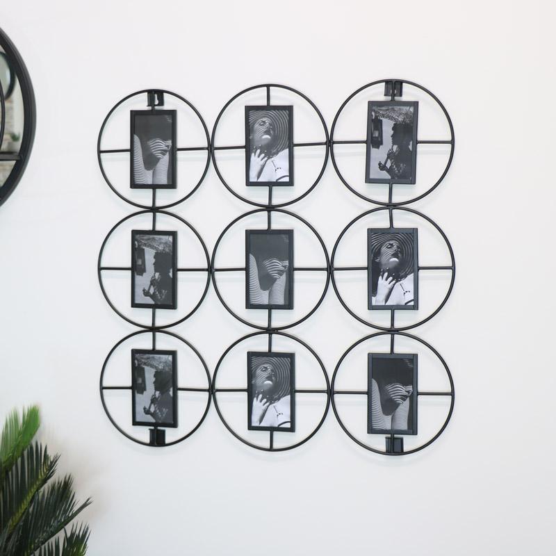 Black Multi Photo Display