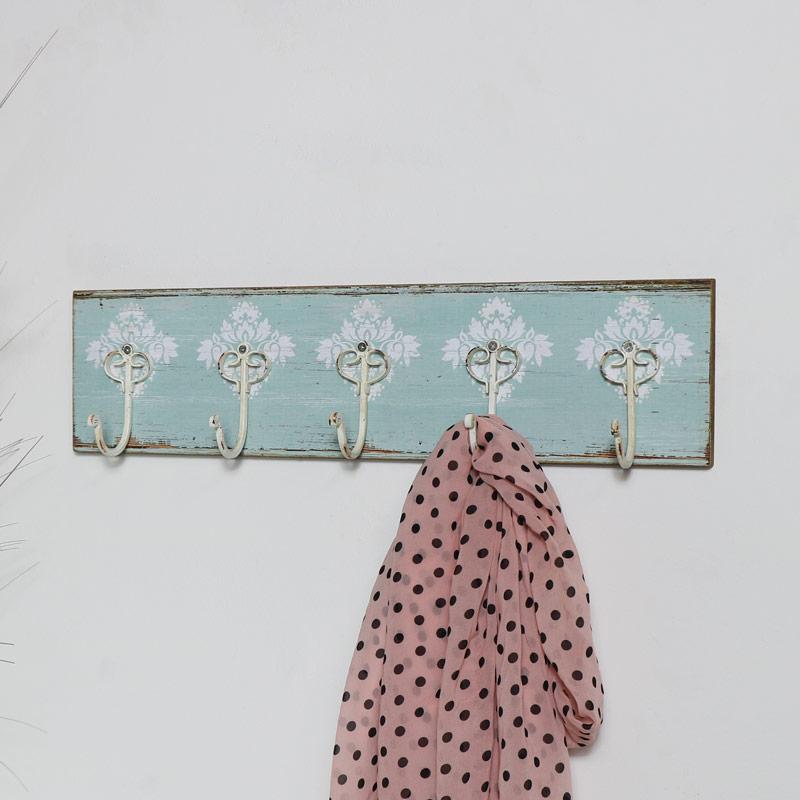 Blue Boho Wall Hooks
