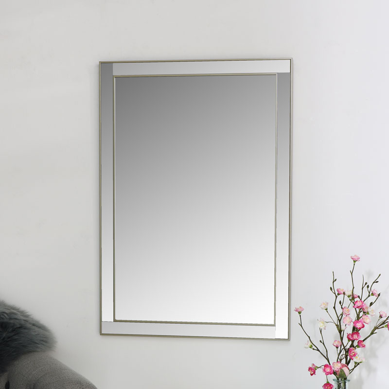 Champagne Wall Mirror