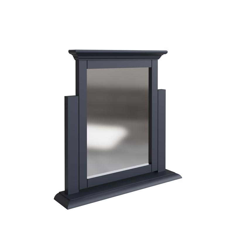 Dark Grey Dressing Table Vanity Mirror- Brooklyn Range