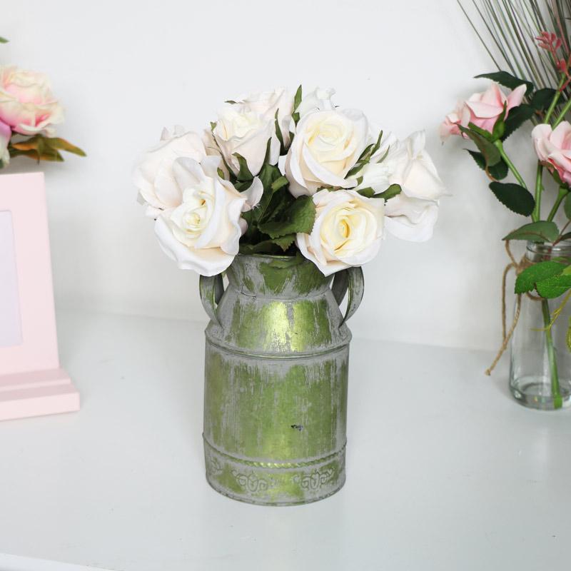 Faux Pale Pink Rose Bouquet