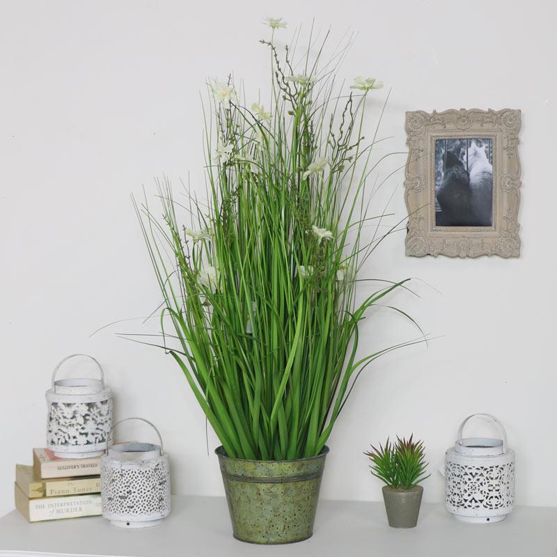 Faux Wild Flower Plant