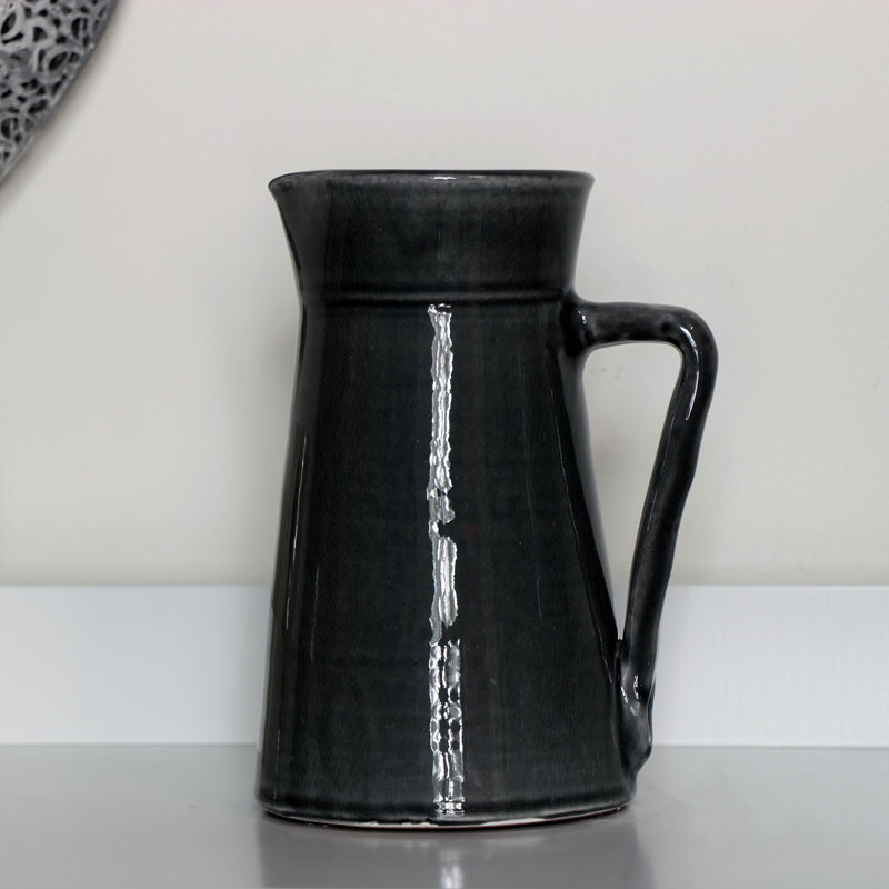 Grey Ceramic Jug