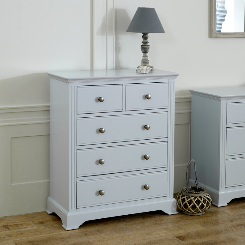 Grey Chest of Drawers - Davenport Grey Range