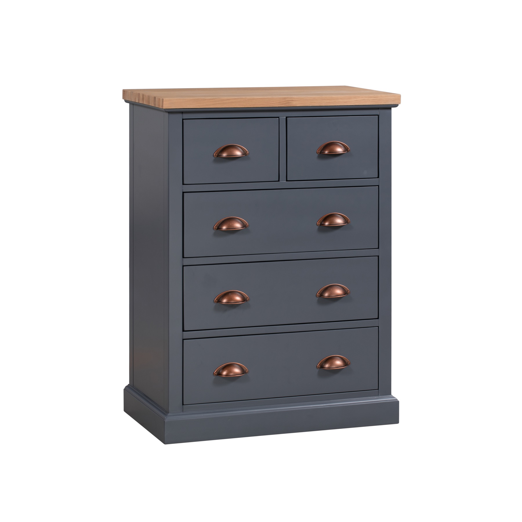 Grey Chest of Drawers - Grayson Range