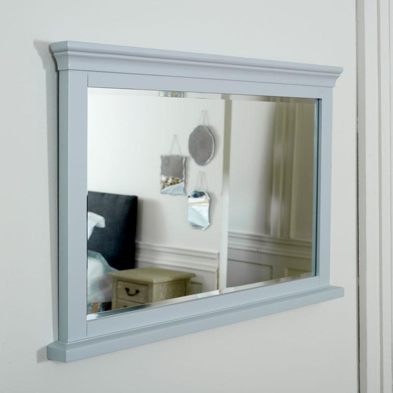 Grey Wall Mirror - Newbury Grey Range 100cm x 60cm