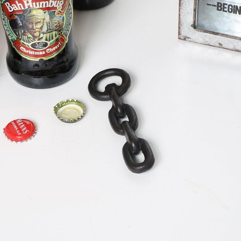 Industrial Metal Chain Bottle Opener