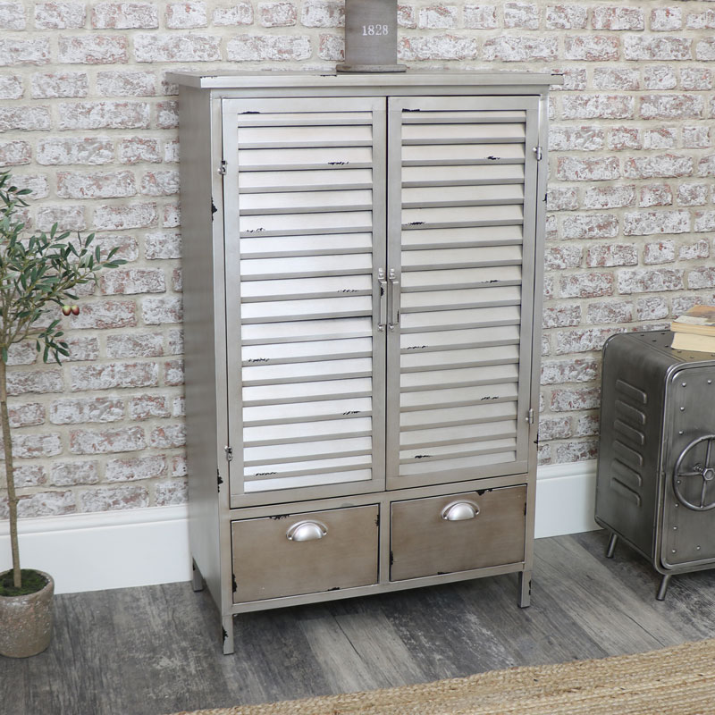 Industrial Storage Cabinet with Drawers