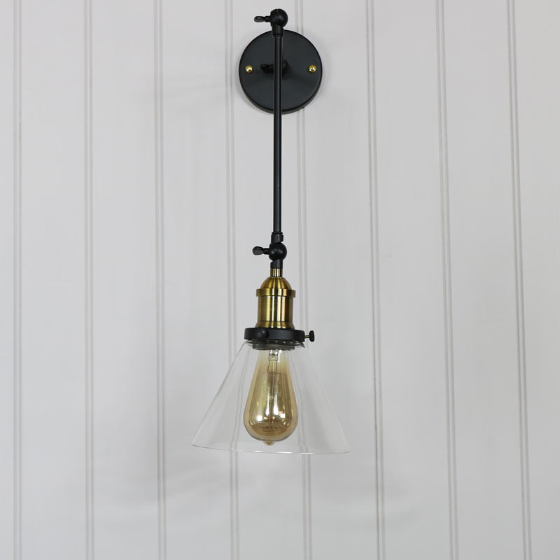 Industrial Style Extending Adjustable Wall Light Vintage